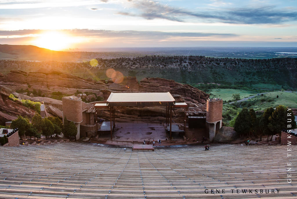 Red Rocks at Sunrise