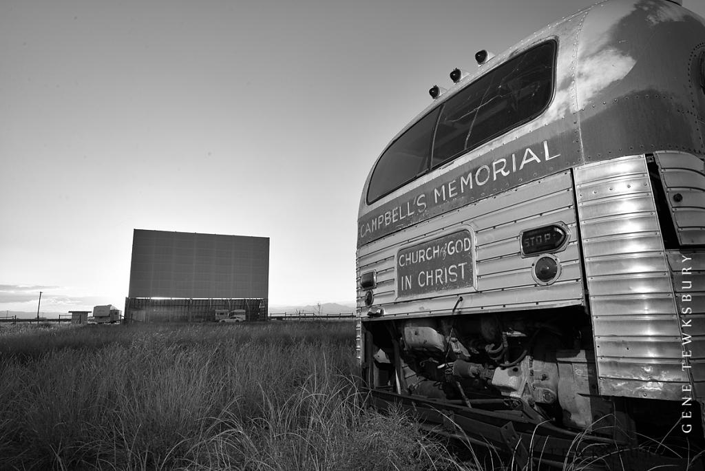 Bus at the Drive In