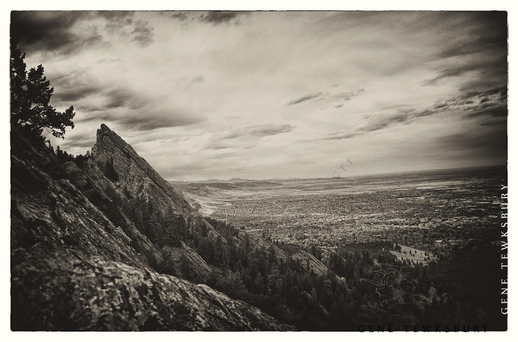 Flat Irons in Sepia