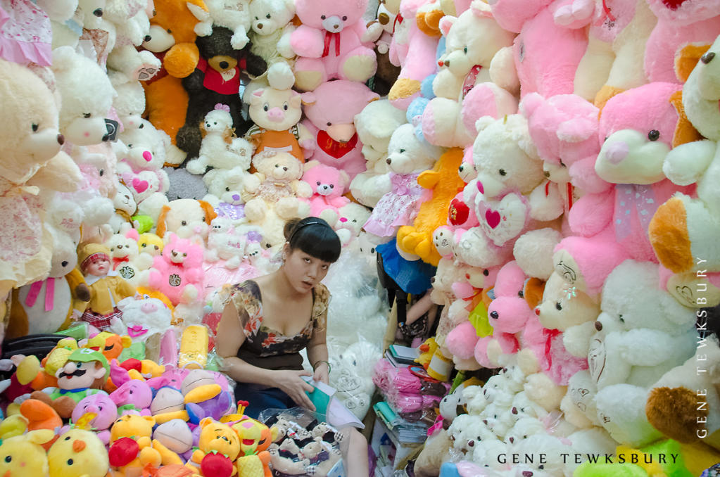Woman at Work: Stuffed Animal Vendor